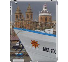 MFA 7006, Marsaxlokk, Malta iPad Case/Skin