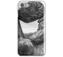 Rock formations in Big Bend National Park, Texas iPhone Case/Skin