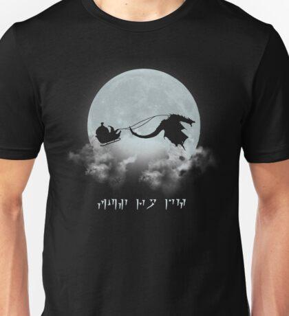 Merry Christmas Dovahkiin Unisex T-Shirt