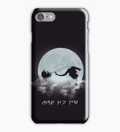 Merry Christmas Dovahkiin iPhone Case/Skin