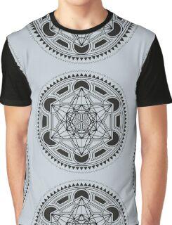 SACRED GEOMETRY - METATRONS CUBE - FLOWER OF LIFE - SPIRITUALITY - YOGA - MEDITATION Graphic T-Shirt