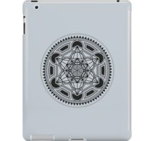 SACRED GEOMETRY - METATRONS CUBE - FLOWER OF LIFE - SPIRITUALITY - YOGA - MEDITATION iPad Case/Skin