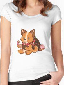 Sweet doog #2 Women's Fitted Scoop T-Shirt