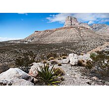 Guadalupe Mountains National Park Photographic Print