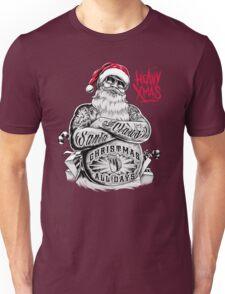 HEAVY Xmas Santa Claus Christmas all days RAHMENLOS Unisex T-Shirt