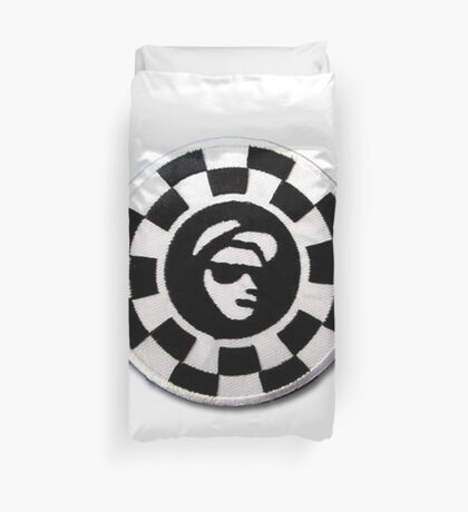 CovMade RudeBoy Blk & Wht Patch Duvet Cover