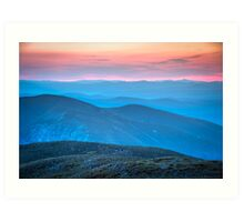 Franconia Notch, New Hampshire. Art Print