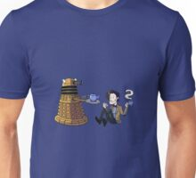 Doctor and Dalek Tea Party Unisex T-Shirt