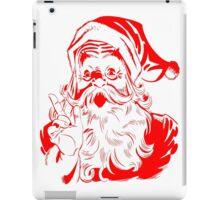 Santa Claus Vintage Retro Christmas Design iPad Case/Skin