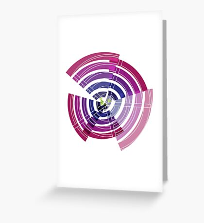 Exploded view Greeting Card