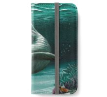 Hawaiian Monk Seal ~ Acrylic  iPhone Wallet/Case/Skin