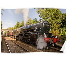 "Stanier ""Black Five"" locomotive Poster"