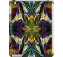 Psychedelic Purple Moth Abstract iPad Case/Skin