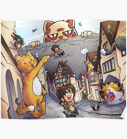 Attack on Kitten! Poster