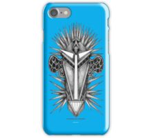 THE BLUE CEPHALOPOD MAN FROM TITAN iPhone Case/Skin