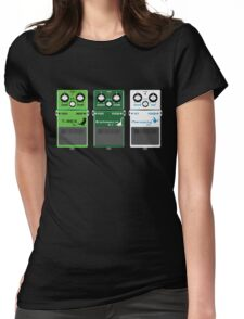 Dinosaur Effects Pedals Womens Fitted T-Shirt