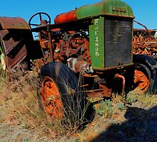 Retired Fordson by hans p olsen