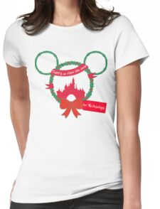 For the Holidays Womens Fitted T-Shirt