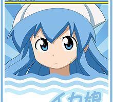 Squid Girl - Shinryaku! Ika Musume by fayezfaye