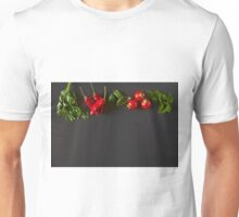 Red and green raw vegetables Unisex T-Shirt