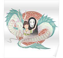 Chihiro & friends !  Poster