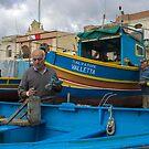 Salvatore ---- Marsaxlokk Malta by Edwin  Catania