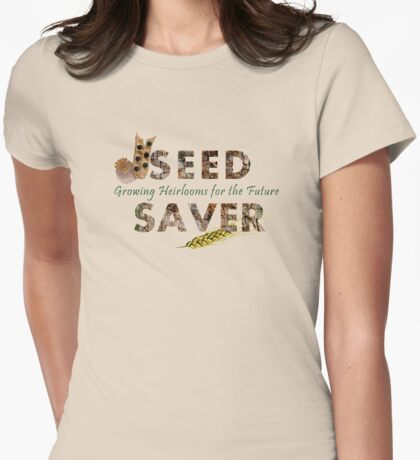 Seed Saver Womens Fitted T-Shirt