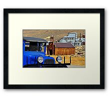 Bodie Shell Station Framed Print