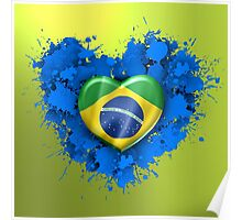 Love Brazil Poster