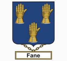 Fane Coat of Arms (English) by coatsofarms