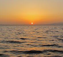 The Calm Sunset Sticker