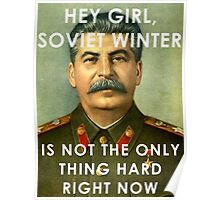 Stalin - Soviet Winter Poster