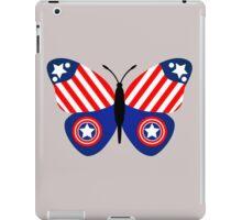 Captain America Butterfly iPad Case/Skin