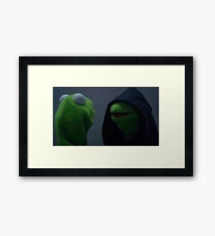 kermit hood Framed Print