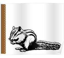 Chipmunk - Critter Love Collection 4 of 6 Poster