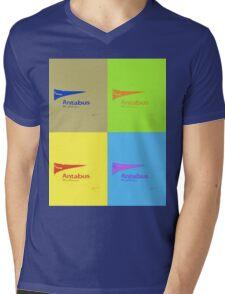 ANTABUS POP Mens V-Neck T-Shirt