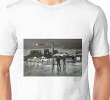 Wet City Night Unisex T-Shirt