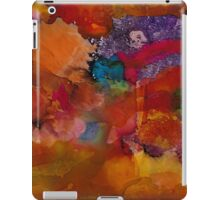 Collage | Alcohol Ink Abstract iPad Case/Skin