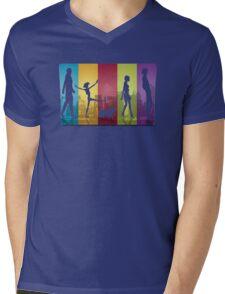 Bebop Crew ver.transparent Mens V-Neck T-Shirt