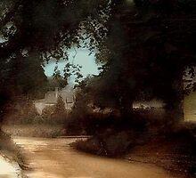 An English Village circa 1910 by cherylkerkin