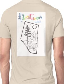 Adventurous Alberta Unisex T-Shirt