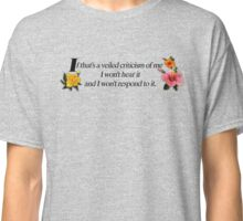 Veiled criticism Classic T-Shirt
