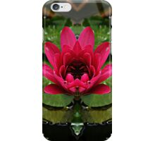 In the pond of reflection iPhone Case/Skin