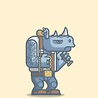 Thug Rhino by fabric8