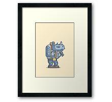 Thug Rhino Framed Print