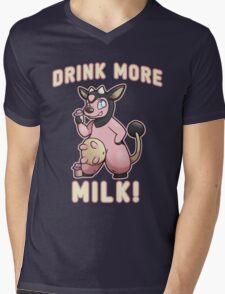 Drink More Milk! Mens V-Neck T-Shirt