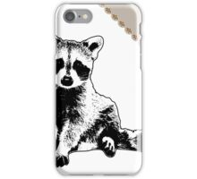 Raccoon - Critter Love Collection 6 of 6 iPhone Case/Skin