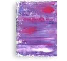 For vintage home : purple designers art Canvas Print