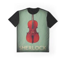 Sherlock Violin Graphic T-Shirt