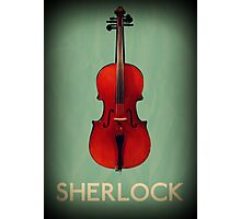 Sherlock Violin Photographic Print